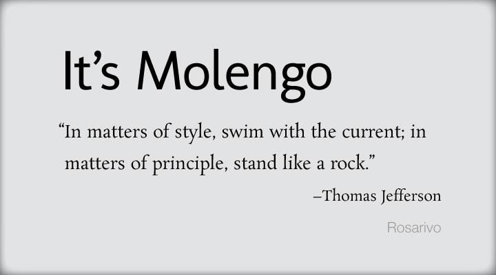 Molengo Font
