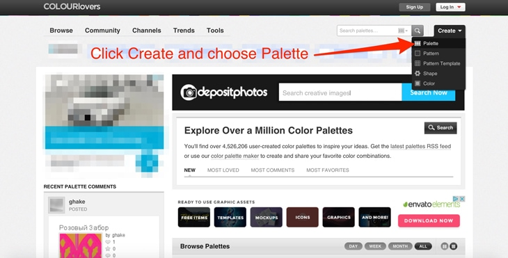 how to use colourlovers