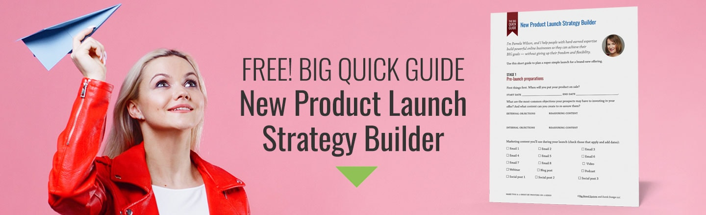 Free product launch plan strategy builder graphic