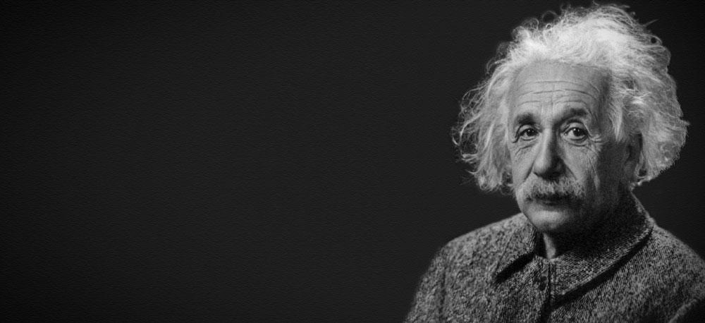 Albert Einstein's business focus