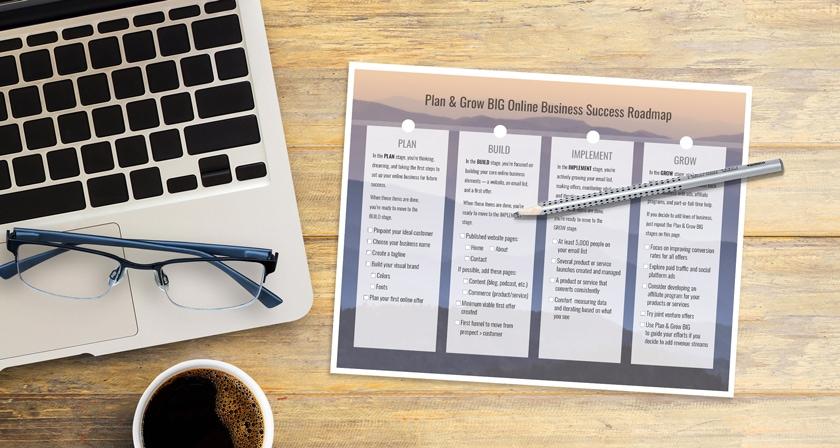 Online Business Roadmap 5