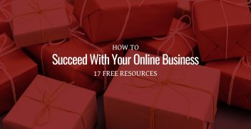 How to succeed with online business