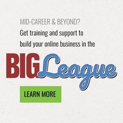BIG League online business training program