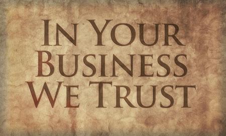 Build trust with good design
