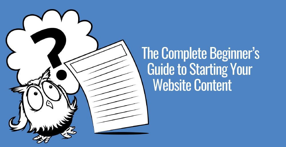 How to write website content, even if you're a beginner