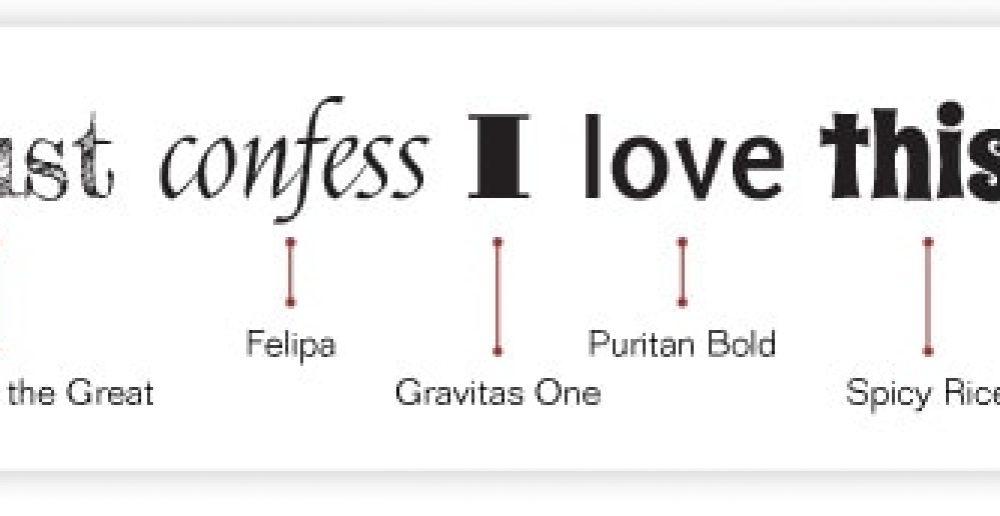 Favorite font