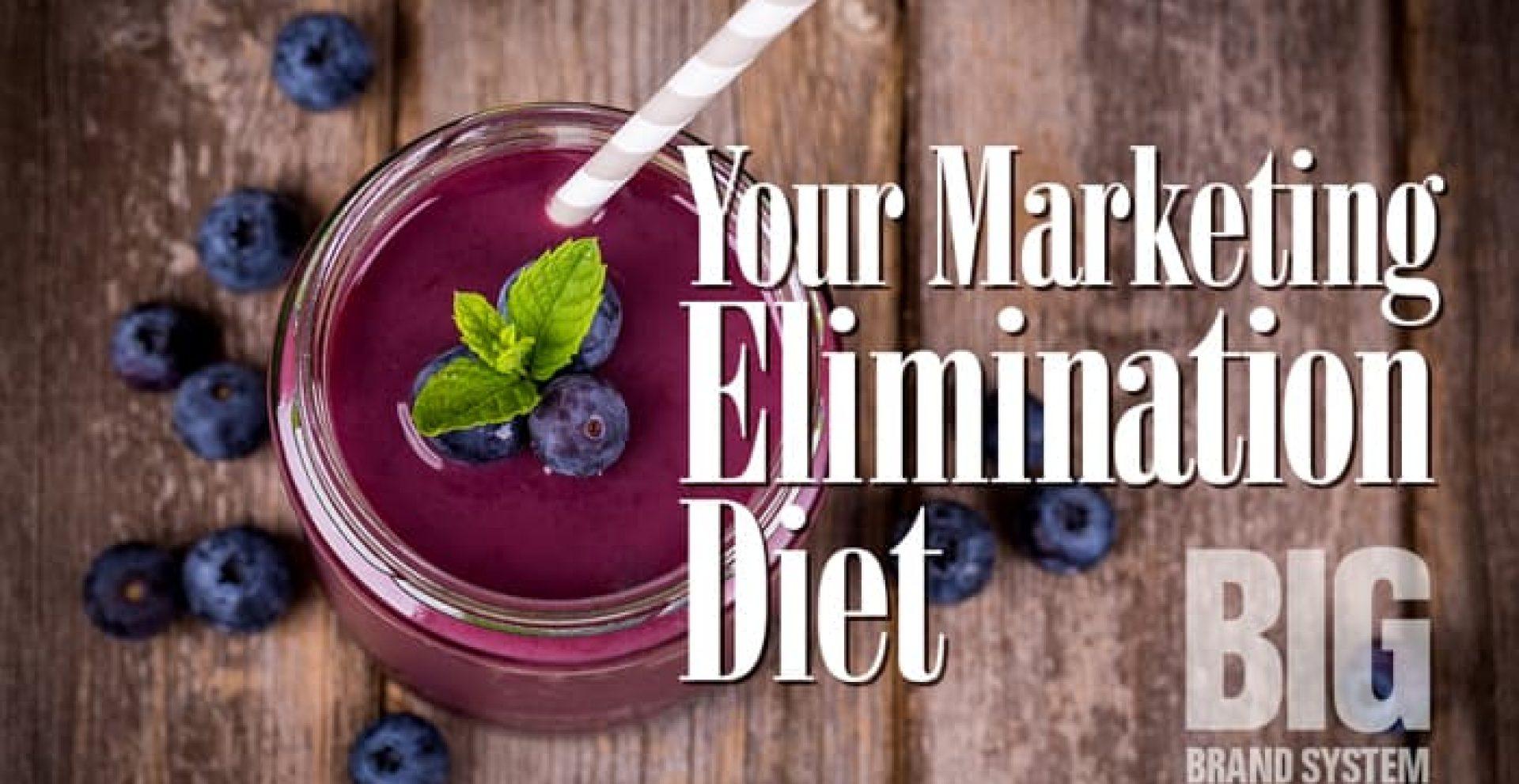 Marketing Elimination Diet
