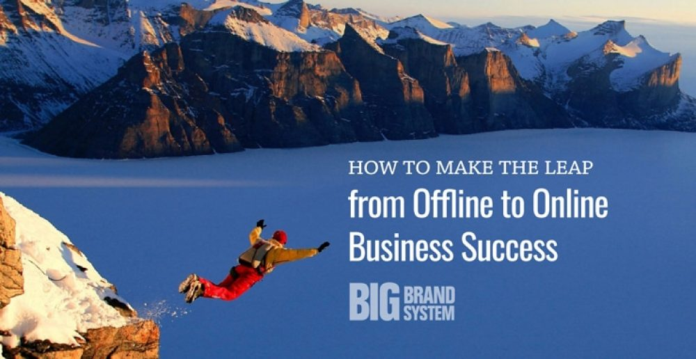 How to make the leap from offline to online business success